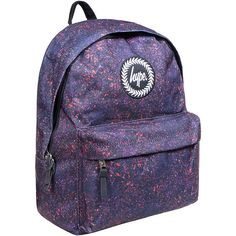 Hype Specklestone Backpack (Multicoloured) ($31) ❤ liked on Polyvore featuring bags, backpacks, day pack backpack, multicolor bag, daypack bag, multi color backpack and knapsack bag