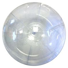 Crystal Clear Beach Balls for bubble pit!