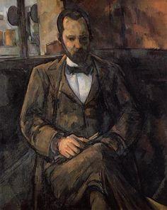 Portrait of Ambroise Vollard by Paul Cezanne
