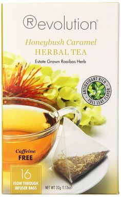 Revolution Tea Herbal Tea, Honeybush Caramel, 16 Count (Pack of 6) *** Click image to review more details. (This is an affiliate link and I receive a commission for the sales)
