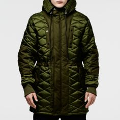 G-Star RAW-Aviator Quilted Parka-Men-Jackets