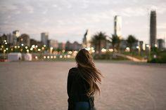 photography girl alone