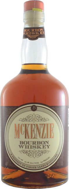 McKenzie Bourbon #Whiskey.  Made from a mash of 70% corn, 20% rye and 10% malted barley, this #bourbon is aged is newly charred American oak and finished in former chardonnay casks. | @Caskers