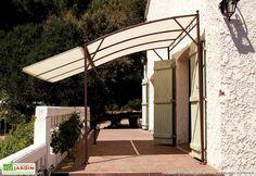 Tonnelle Loggia 3x2 m avec Toile+Auvent - Tonnelle LOGGIA 2x3m avec toile+ auvent (couverture 3x3m grace au auvent) - MC Garden