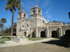 Mission San Conception in San Antonio, TX Jan. 2012