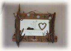miroir en bois flotté NATYDECO sur site http://www.natydecocorse.com