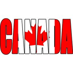 Canada Canadian Text Flag North America Country World National Nation Symbol Logo Art . Canada Logo, Canada Hockey, Gym Design, Sign Design, Canada Day Images, Canadian Things, Reverse Applique, Writing, Tatoo