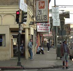 21 Club, San Francisco by Dizzy Atmosphere, via Flickr