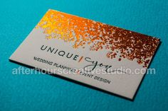 30 Best Letterpress Business Cards Images Embossed Business Cards
