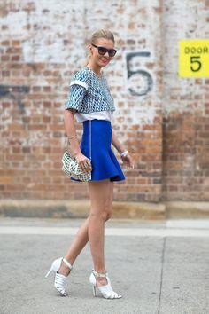 street style: Australian Fashion Week Spring 2014...