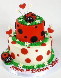Детский День рождения в стиле Божьей коровки