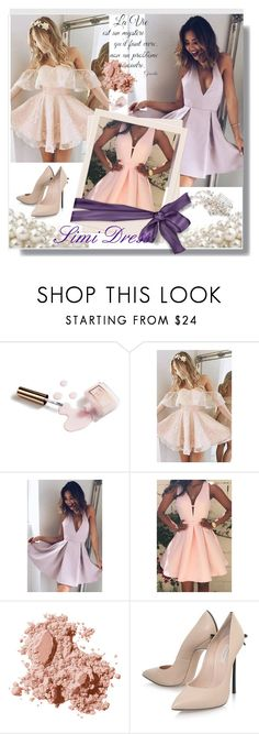 """""""Perfect Moment For.../Simi Dress 5"""" by lightstyle ❤ liked on Polyvore featuring Ciaté, Bobbi Brown Cosmetics, Casadei and TC Fine Intimates"""