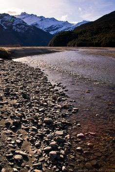 Matukituki River, Mt Aspiring National Park, New Zealand
