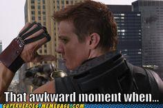 No more arrows sorry Clint!