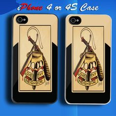 Sailor Jerry Custom iPhone 4 or 4S Case Cover