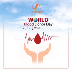 World Blood Donor Day - 14 June  IMAGES, GIF, ANIMATED GIF, WALLPAPER, STICKER FOR WHATSAPP & FACEBOOK