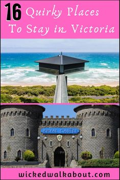 Stay somewhere fabulous! Unique, quirky and unusual accommodation options in Victoria, Australia Victoria Attractions, Quirky Places To Stay, Travel Goals, Travel Tips, Visit Canada, Unique Hotels, Water Activities, Victoria Australia, Canada Travel