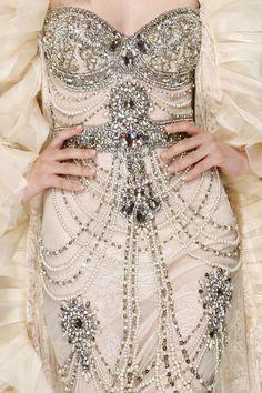 Intricate designs / Wedding dress