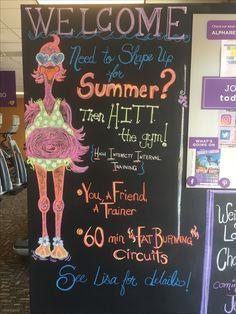 Best anytime fitness chalkboard ideas images chalkboard ideas