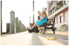 """Shannon & Cole - Norfolk Engagement Session"" Engagement photos taken in Norfolk, VA by Elizabeth Henson Photos. #VirginiaPhotographer #NorfolkPhotographer #EngagementPhotos"