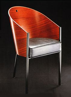 Philippe Starck Costes chair...I actually own one of these. Love it <3 (wish my seat was velvet! LUSH.)