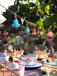 Disney Teacups - one of my favorite things in the world