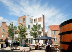 Tibby's Triangle Housing in Southwold by ash Sakula Architects: