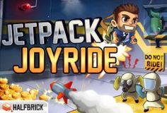 Jetpack Joyride is een free-to-play game van Halfbrick Studios, de jongens achter het populaire Fruit Ninja. In deze side scrolling game zijn een Jetpack en een ongelooflijke coolness factor de twee belangrijkste wapens waarmee je dit avontuur aanvat. Ontwijk obstakels, verzamel munten, koop upgrades en nutteloze gadgets en waan je voor 200% in een rasechte arcade game. De game is gratis, maar om je gebruikte bandbreedte te verantwoorden, geven we hieronder ons oordeel!