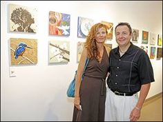 Lou and Traci Ramirez during the Undisclosed event at the Toledo School for the Arts.   (Toledo Blade, June 2013)