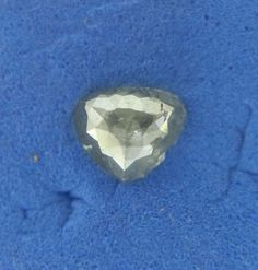 African 0.45TCW Gray color Pear shape full Cut Loose Natural Diamond for ring #SparklingFancyDiamonds