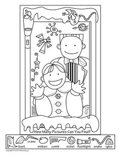 Summer Activity Coloring Pages Activities Summer and Hidden pictures