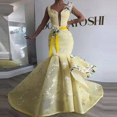 Womens African Dress Dashikis Print Ball Gown Party Dress, Maxi and Strapless Women gown with Free Headwear Plus - without Necklace African Wedding Attire, African Attire, African Fashion Dresses, African Dress, African Traditional Dresses, Traditional Wedding Dresses, Elegant Dresses, Beautiful Dresses, Formal Dresses