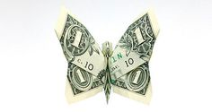 Money origami ~ cool ways to fold money