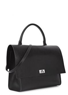 Black medium leather satchel Givenchy - New In - Women