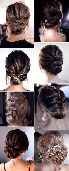 trending low bun updo wedding hairstyles #BridesmaidHairUpdo