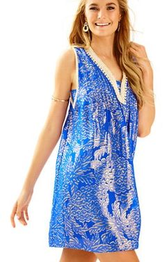 105f0ece3d6f60 Tanner Silk Dress; $248 Knit Dress, Silk Dress, V Neck Dress, Preppy. Lilly  Pulitzer