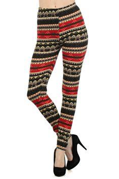 Winter Wonderland Leggings: Katybrooke Boutique