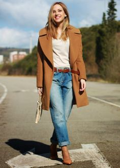 Casual Camel look | Looks and shoes