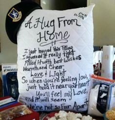 A Hug from home - BRILLIANT!