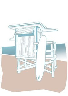 sólo pepistika: La playa Chair, Furniture, Home Decor, Beach, Illustrations, Decoration Home, Room Decor, Home Furniture, Interior Design