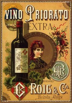 When looking for a fine wine to give as a gift to that special person on your list, you may want to consider giving a vintage wine. Vintage French Posters, Vintage Advertising Posters, Vintage Advertisements, Print Advertising, Vintage Wine, Vintage Labels, Vintage Ads, Vintage Trends, Retro Poster