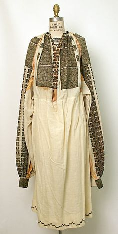 Ensemble | Romanian | The Met Date:19th century Medium:wool, cotton