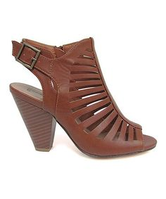 Loving this Tan Becca Sandal on #zulily! #zulilyfinds