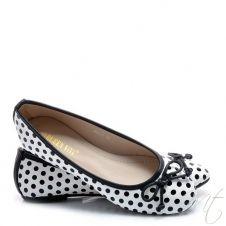 Dámske biele balerínky Lautaro #shoes #flats #fashion #topanky #balerinky #moda