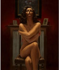 Just the Way It Is by Jack Vettriano. Limited Edition Giclee Print Image Size: 20 x 16.8 ins / 50.8 x 42.7cm Framed size: 34.0 x 29.0 ins / 86 x 73cm Published in 2012 Paper: 350 gsm Museum Etching paper Edition Size: 250 + 25 Artist's Proofs Signed and numbered by the artist Just the Way It Is is also available as a framed print in a curved warm black/brown frame selected by the artist himself. Unframed prints come mounted and acetate wrapped for protection.£610