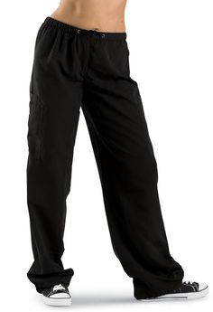 Hip-Hop Drawstring Dance Pants; Urban Groove Maybe for Hip Hop