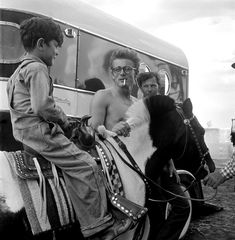 James Dean with Kid & Horse  by Richard Miller