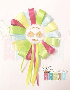 Distintivo para baby shower