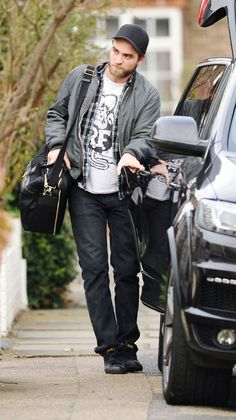 Robert Pattinson. There he is Wearing MY Shirt again!! LOL