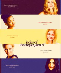 ladies of the hunger games
